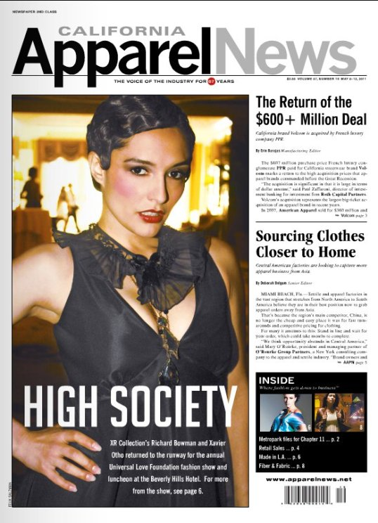 apparel news, made in la, cover story,